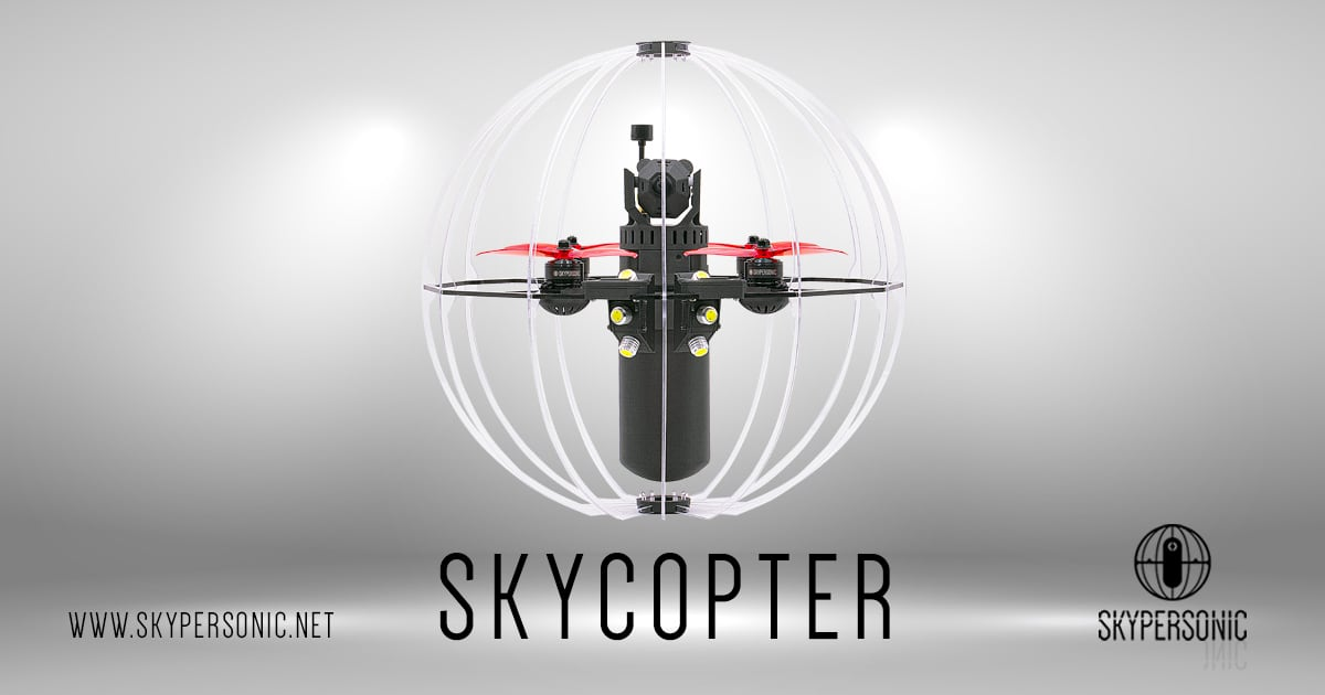 Skypersonic – Indoor drones and tracking systems